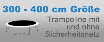 Gartentrampolin 300-400 cm