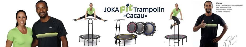 Das Fitnesstrampolin Joka Fit gibt es jetzt bei uns zum unschlagbaren Presi zu kaufen.
